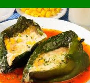 Chiles rellenos ligth